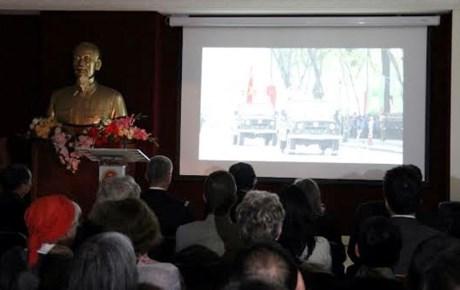La Journee de la Police vietnamienne celebree en France hinh anh 1