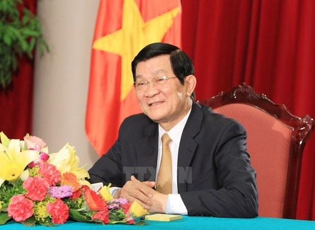 Truong Tan Sang participera a la ceremonie de celebration de la Victoire sur le fascisme en Chine hinh anh 1