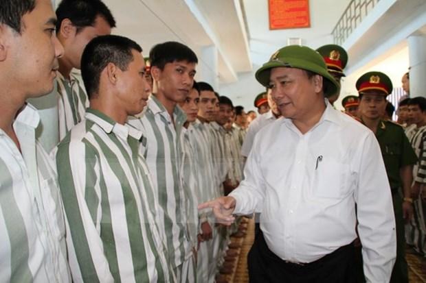 Publication de la decision d'amnistie 2015 du president du Vietnam hinh anh 1