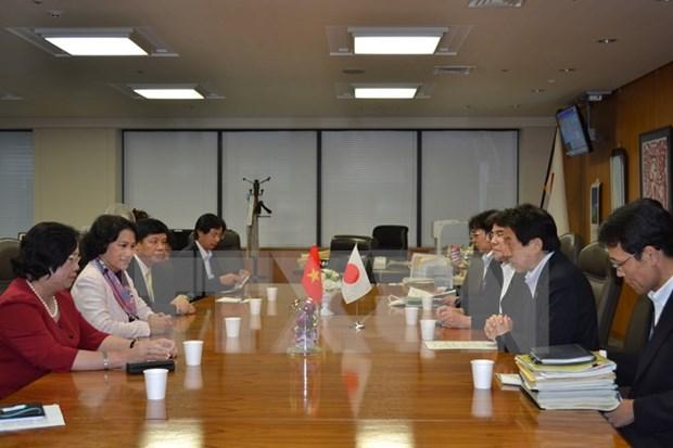 Vietnam et Japon cooperent dans le developpement des ressources humaines hinh anh 1