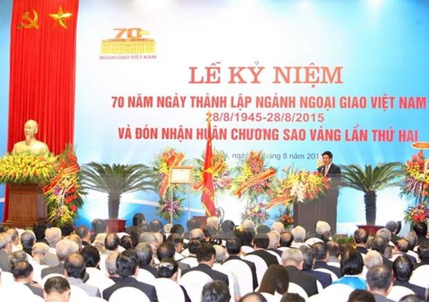 Le 70e anniversaire de la diplomatie vietnamienne celebre en Italie hinh anh 1