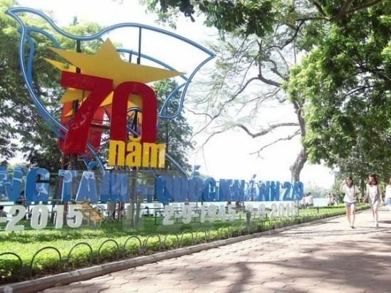 La Revolution d'Aout et la Fete nationale celebrees en grandes pompes a Hanoi hinh anh 1