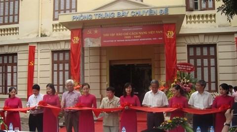 Expo sur la presse revolutionnaire vietnamienne (1925-1945) hinh anh 1
