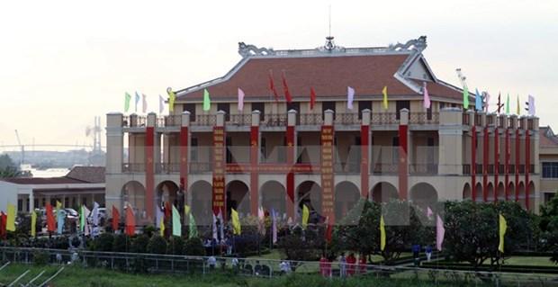 HCM-Ville : les dirigeants rendent hommage aux Presidents Ho Chi Minh et Ton Duc Thang hinh anh 1