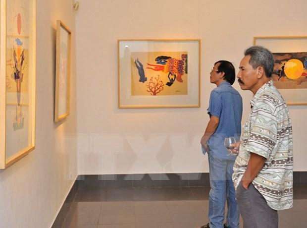Exposition de Beaux-arts du delta du fleuve Rouge hinh anh 1