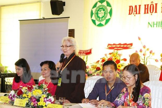 Congres de l'Association des bouddhistes vietnamiens en Republique tcheque hinh anh 1