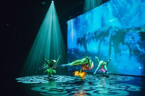 Ionah, premier spectacle en 3D a Hanoi hinh anh 1