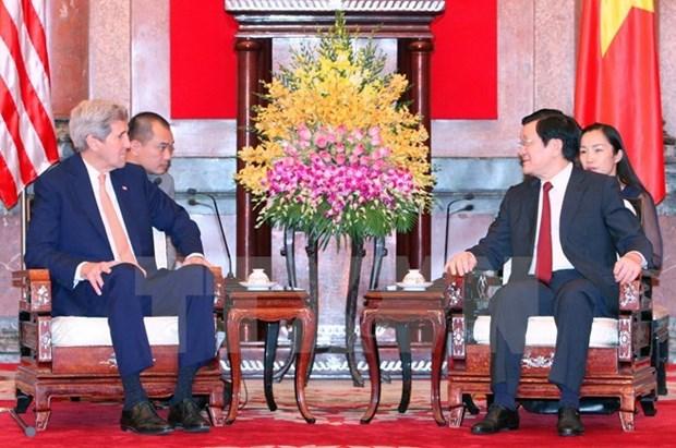 Le secretaire d'Etat americain felicite des 70 ans de la Fete nationale du Vietnam hinh anh 1
