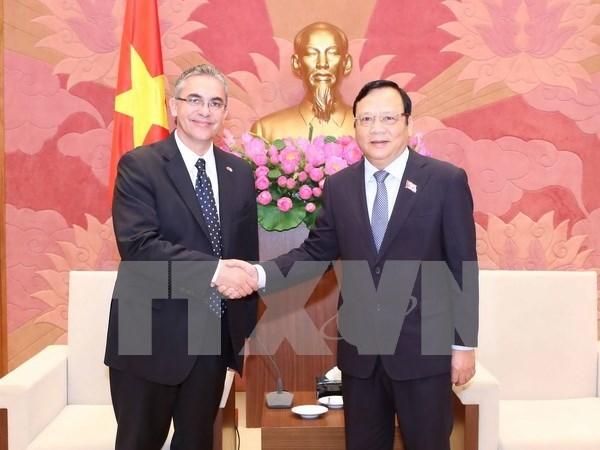 Renforcement des relations d'amitie Vietnam-Argentine hinh anh 1