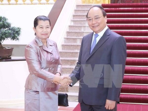 Vietnam et Cambodge resserrent leur solidarite hinh anh 1