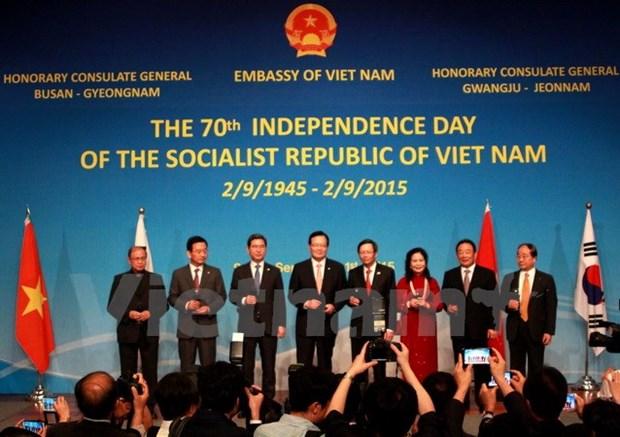 La 70e Fete nationale du Vietnam celebree dans plusieurs pays hinh anh 1