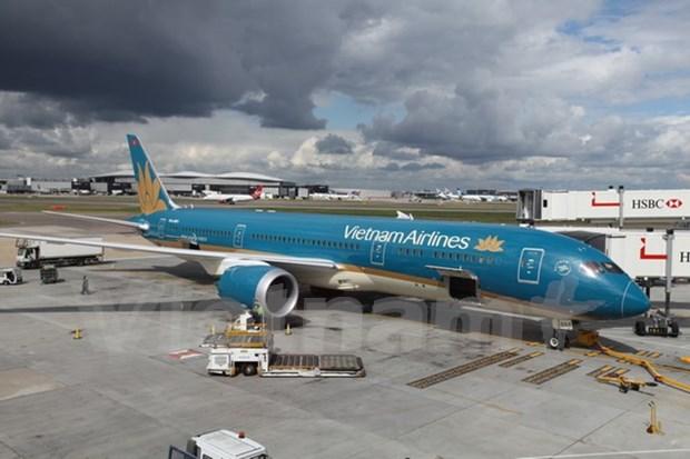 Le premier vol de Vietnam Airlines avec le Boeing 787-9 Dreamliner a Londres hinh anh 1