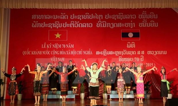 La presse laotienne loue la Revolution d'Aout et la Fete nationale du Vietnam hinh anh 1