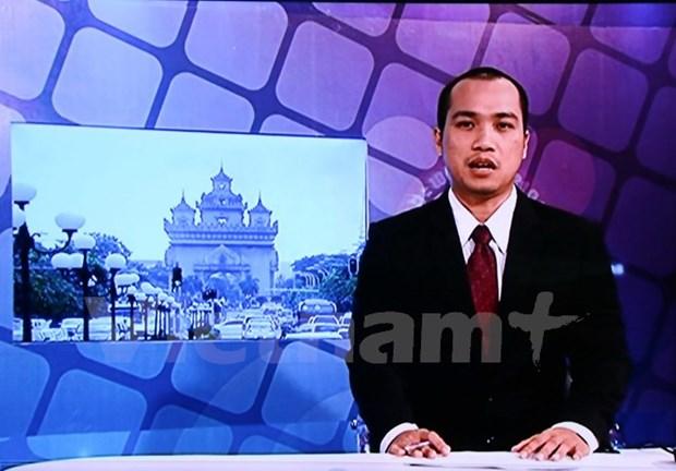 La Television nationale du Laos diffuse un journal televise en vietnamien hinh anh 1