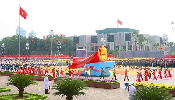 Fete nationale : plusieurs pays felicitent le Vietnam hinh anh 1