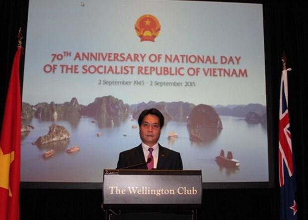 D'Asie en Oceanie, la Fete nationale du Vietnam retentit hinh anh 1