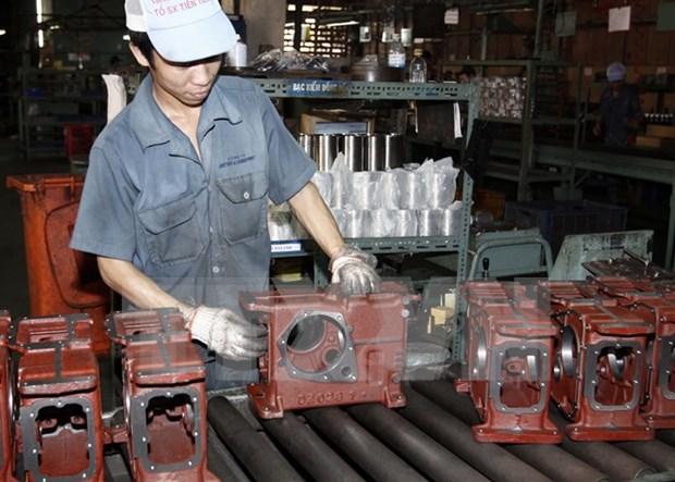 L'indice de la production industrielle de Hanoi en hausse de 7,4% hinh anh 1