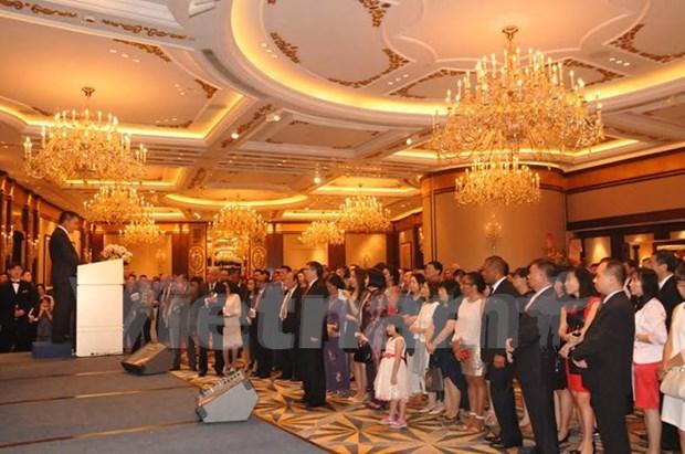 D'Asie en Oceanie, la Fete nationale du Vietnam retentit hinh anh 2