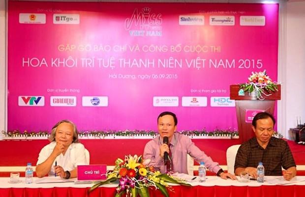 La finale du concours Miss ITGO Vietnam 2015 aura lieu a Hai Duong hinh anh 1