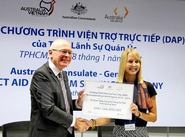 L'Australie debute le Programme d'assistance directe au Vietnam hinh anh 1