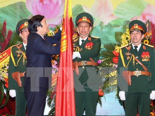 Celebration des 70 ans de l'etat-major general de l'Armee populaire du Vietnam hinh anh 1