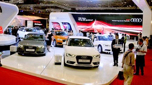 Deux plus grandes expositions automobiles prevues a Hanoi et HCM-Ville hinh anh 1
