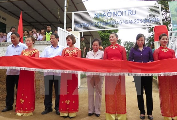 Un internat pour des eleves issus d'ethnies minoritaires a Bac Kan hinh anh 1