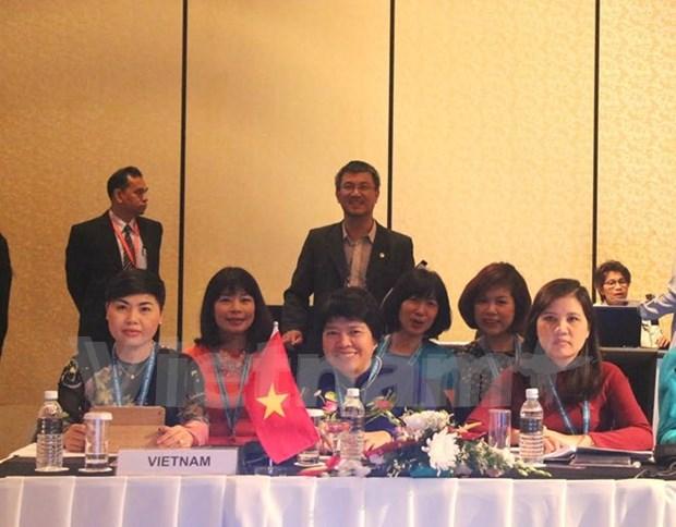 Le Vietnam a la conference des femmes deputees en Malaisie hinh anh 1
