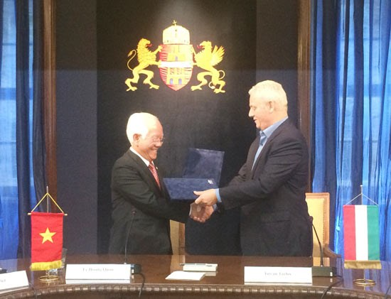 Renforcement de la cooperation Ho Chi Minh-Ville et Budapest hinh anh 1