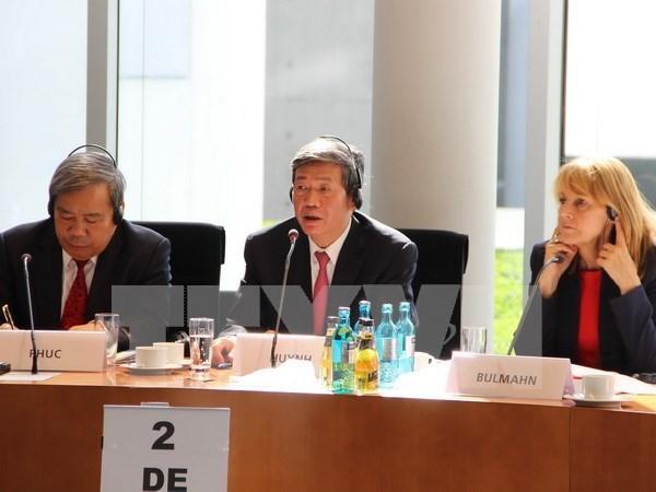 Dialogue theorique entre le PCV et le Parti social-democrate allemand hinh anh 1