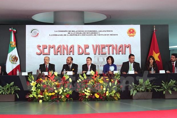Inauguration de la Semaine du Vietnam au Mexique hinh anh 1