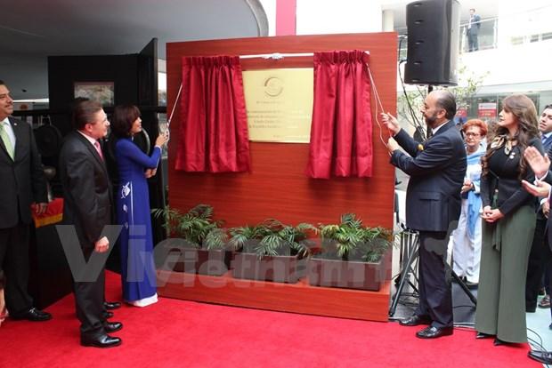 Inauguration de la Semaine du Vietnam au Mexique hinh anh 2