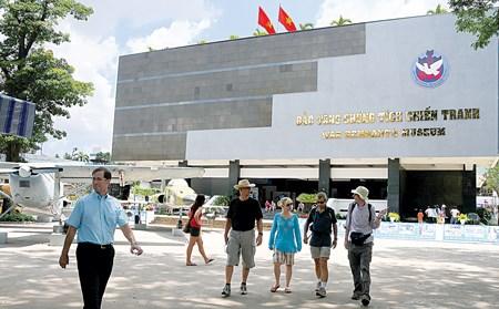Plus de 17 millions de visiteurs au Musee des vestiges de guerre d'Ho Chi Minh-Ville hinh anh 1