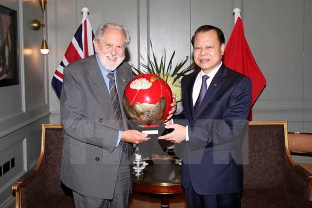 Impulser le partenariat strategique Vietnam-Royaume-Uni hinh anh 1