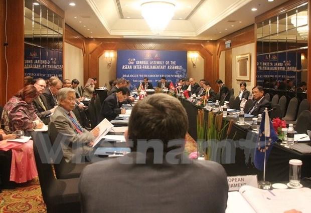 Renforcement de la cooperation entre l'AIPA et le Parlement europeen hinh anh 1