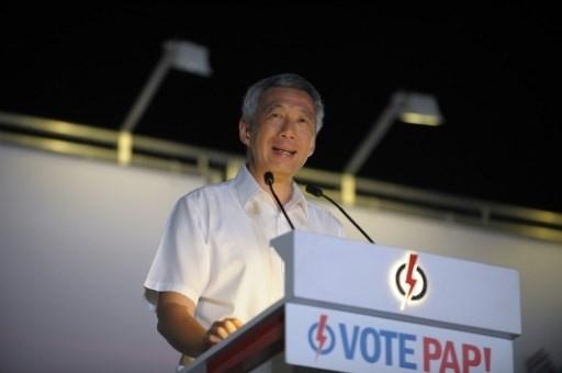 Singapour: Les elections legislatives ont lieu aujourd'hui hinh anh 1