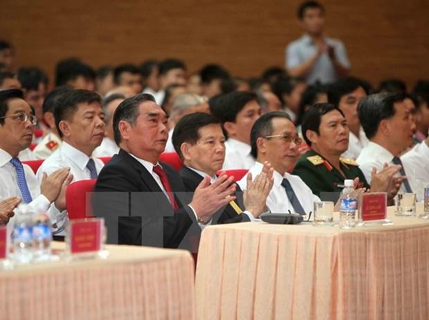Meeting celebrant le 85e anniversaire du mouvement Xo Viet Nghe Tinh hinh anh 1