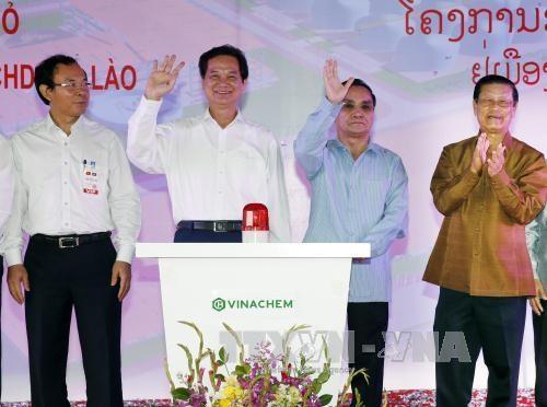Le Vietnam et le Laos lancent un grand projet d'exploitation miniere hinh anh 1
