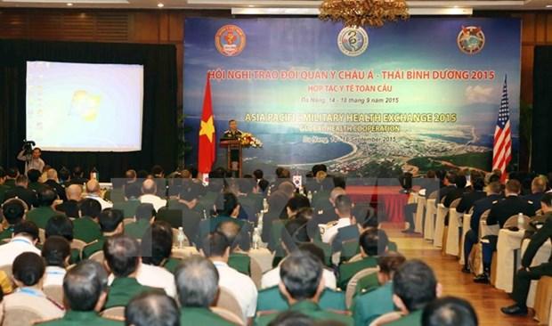 Ouverture de la conference sur la medecine militaire de l'Asie-Pacifique 2015 hinh anh 1