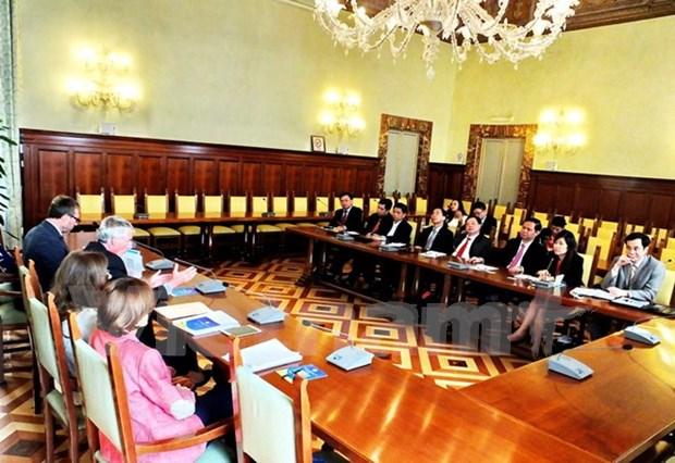 Partage d'experiences Vietnam-Italie dans l'inspection du gouvernement hinh anh 1