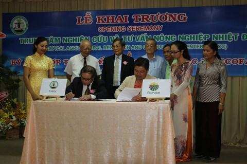 Inauguration du Centre d'etude et de consultation sur l'agriculture tropicale hinh anh 1