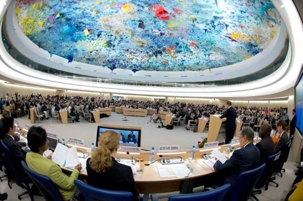 Le Vietnam a la 30e session du Conseil des droits de l'homme de l'ONU hinh anh 1