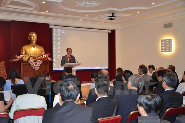 Colloque sur l'assistance des entreprises vietnamiennes operant en France hinh anh 1