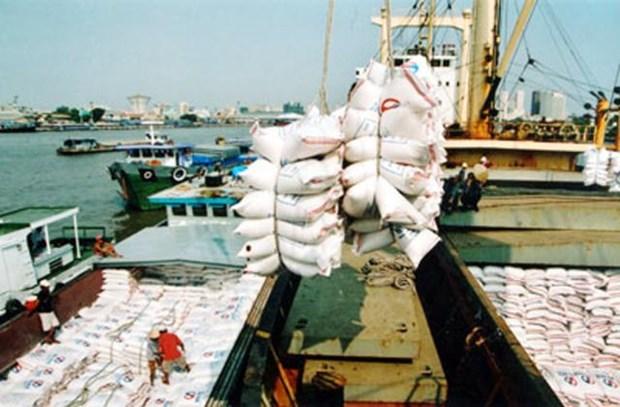 Recul des exportations nationales de riz hinh anh 1