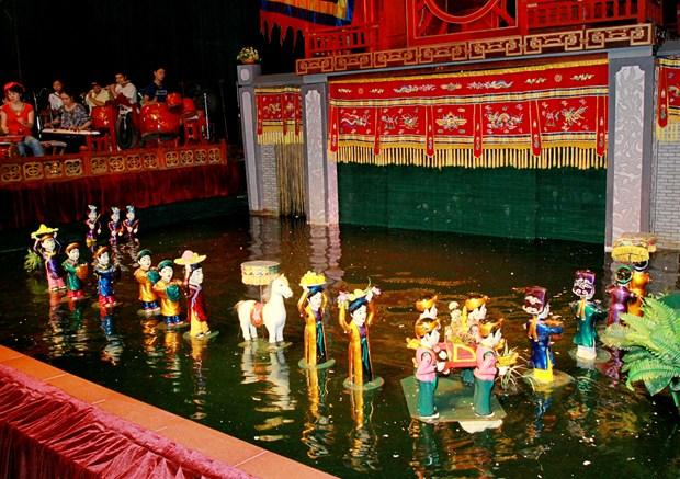 Presentation des marionnettes sur l'eau en Malaisie hinh anh 1