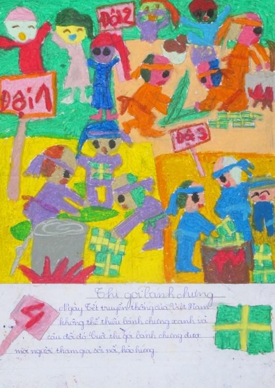 Lancement d'un concours de dessins des enfants asiatiques hinh anh 1