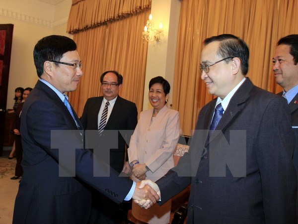 Vietnam et Philippines renforcent leur cooperation dans la diplomatie hinh anh 1