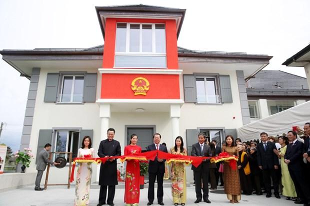 Inauguration du siege de la Mission permanente du Vietnam a Geneve hinh anh 1