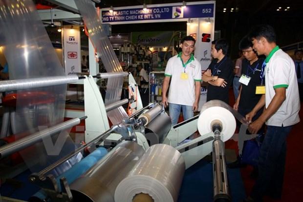Ouverture de la 14e exposition internationale de l'industrie du plastique et du caoutchouc hinh anh 1