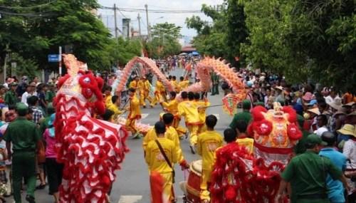La fete traditionnelle des pecheurs de Can Gio hinh anh 1